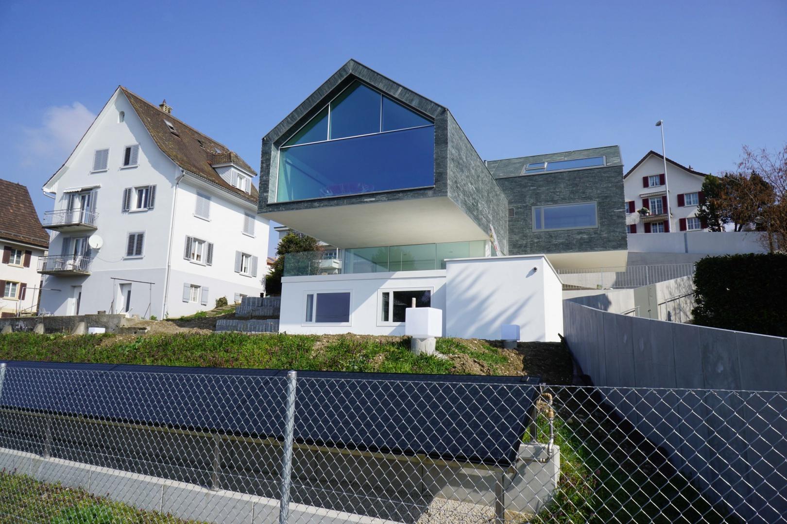 Süd-Ost Ansicht © Nori-SASAKI  Hagenholzstrasse 104a 8050 Zürich