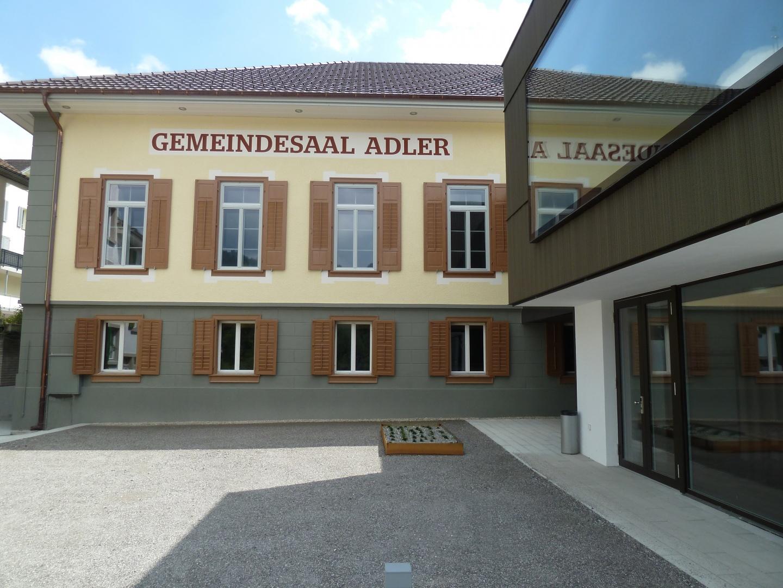Aussenansicht Adlersaal © CAS GRUPPE AG