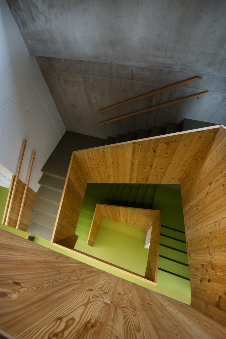Treppe von oben © CAS GRUPPE AG