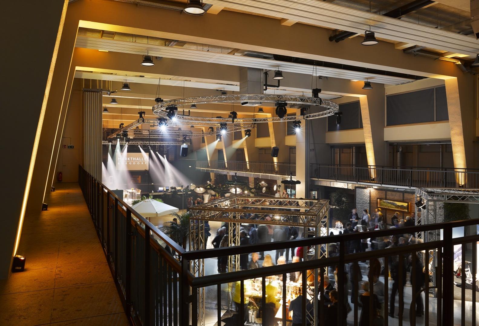 Markthalle, Galerie und Halle während Anlass © Manuel Stettler, Fotograf, Burgdorf