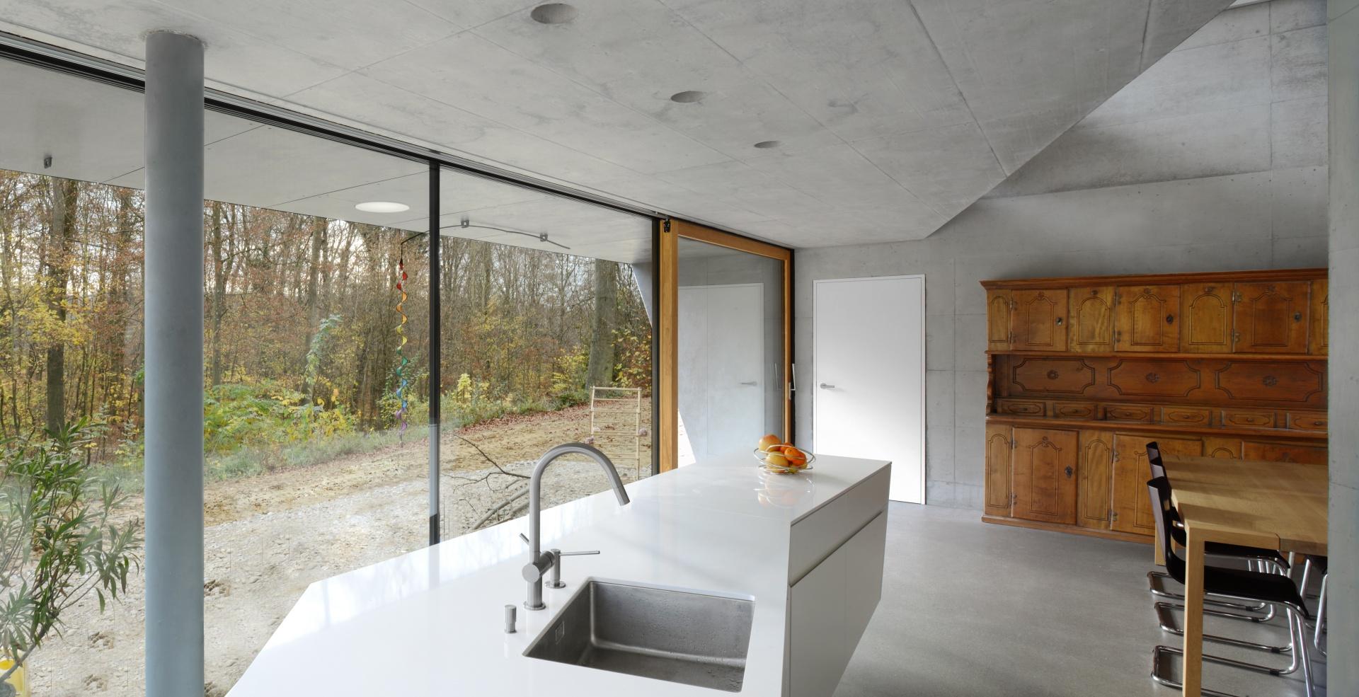 Küche © Daluz Gonzalez Architekten