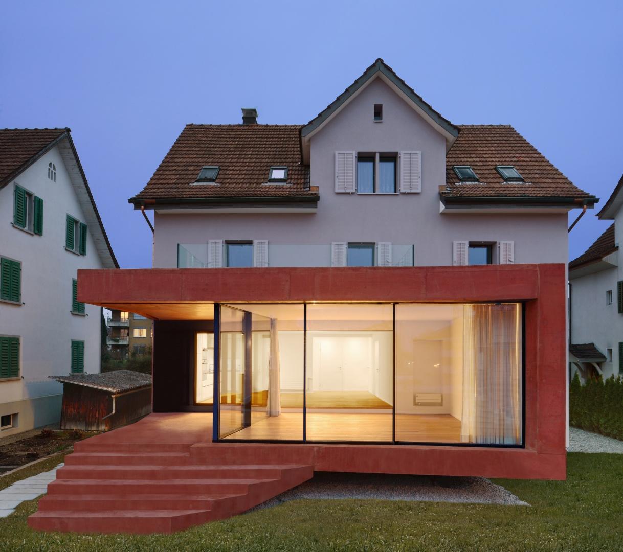 Fassade Süd © Daluz Gonzalez & Cajos Architekten