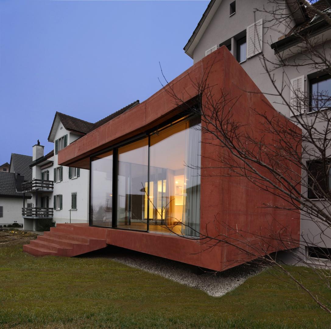Box Perspektive © Daluz Gonzalez & Cajos Architekten