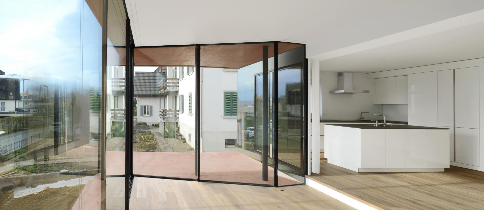 Wohnen-Terrasse © Daluz Gonzalez & Cajos Architekten