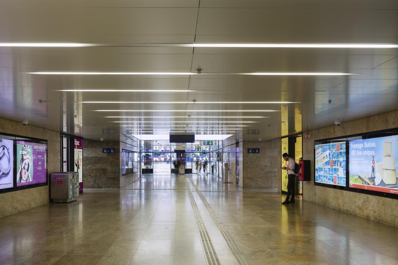 Circulation - Passage inférieur Est © Fernando Guerra, Lisbonne