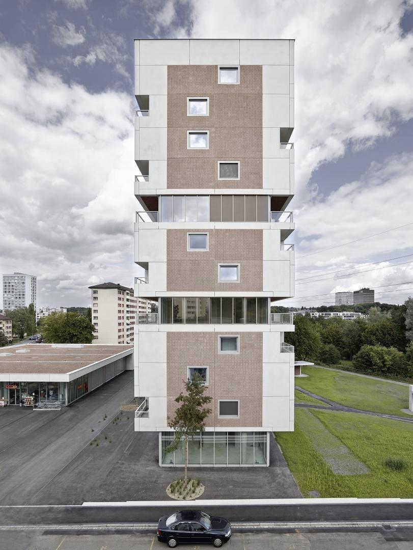 Wohnhochhaus Hirzenbach  © Kuster & Frey,  Identity | Fotografie, Bürgenstrasse 19, CH-6005 Luzern