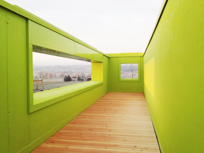 Dachterrasse © gzp architekten, Zentralstrasse 10, Luzern
