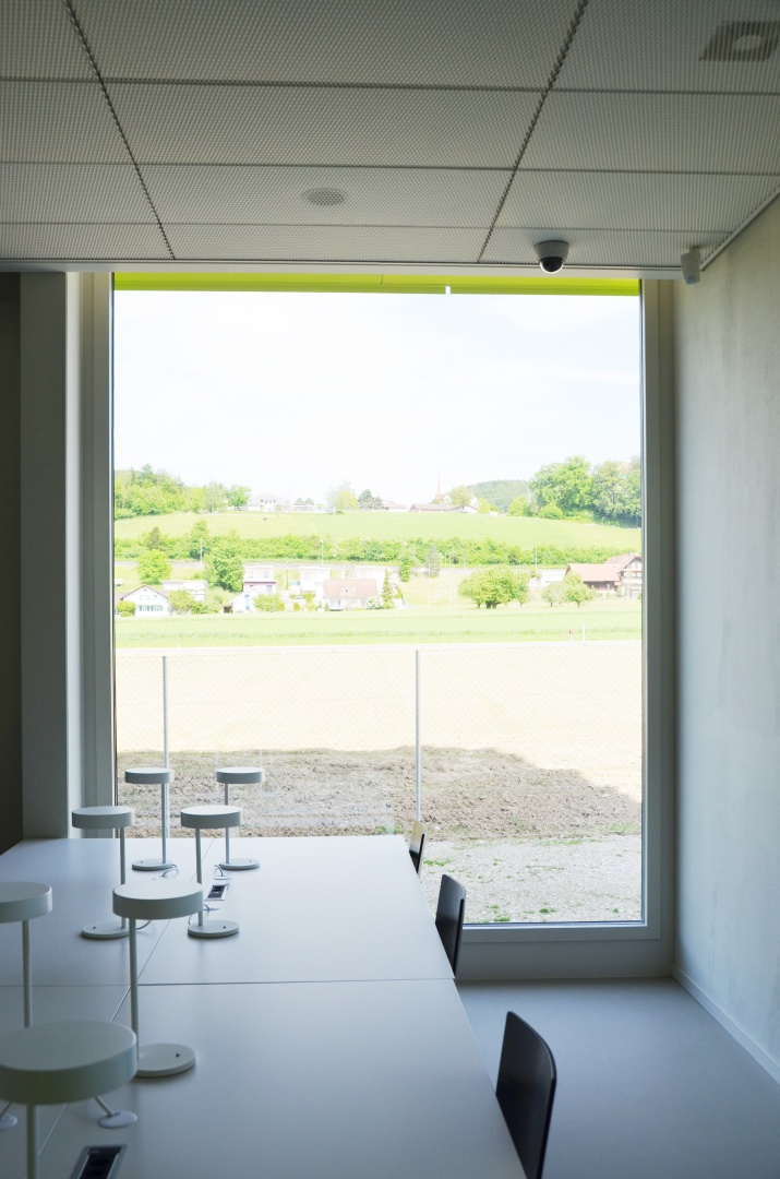 Lesesaal  © gzp architekten, Zentralstrasse 10, Luzern