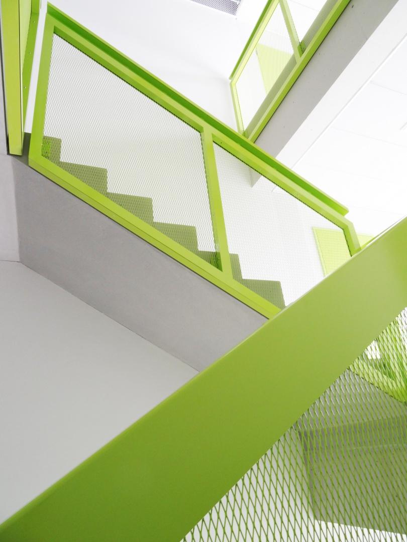 Treppenhaus  © gzp architekten, Zentralstrasse 10, Luzern