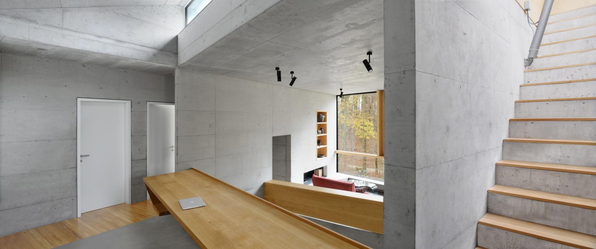 Büro_Treppe Dachterrasse © Daluz Gonzalez Architekten