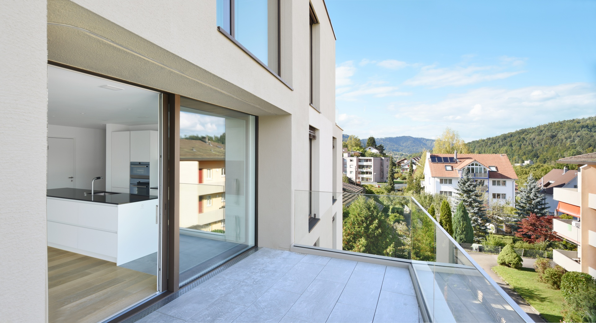 TERRASSE_ WHG.8 2.OG © Daluz Gonzalez Architekten