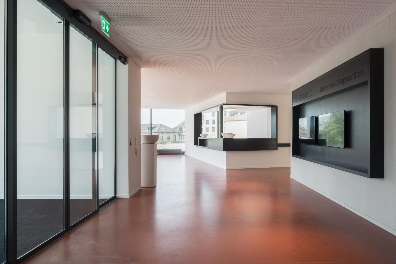 Eingangsbereich © Dominique Marc Wehrli, La Chaux-de-Fonds
