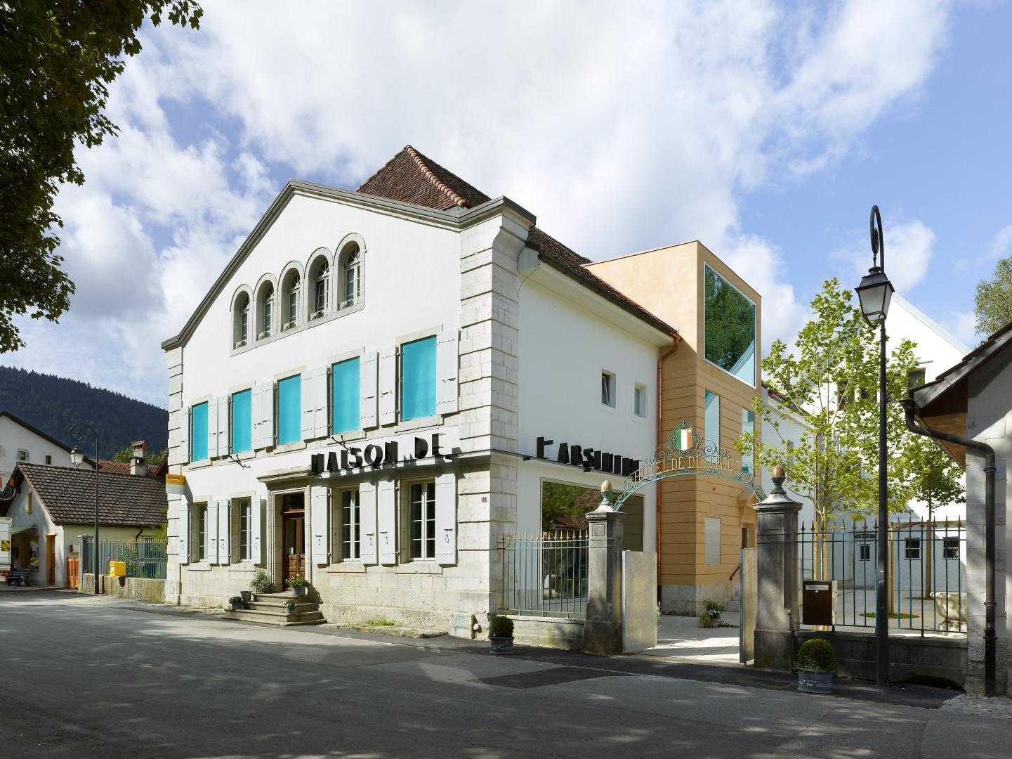 Maison de l\'Absinthe   Schweizer Baudokumentation