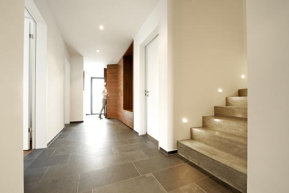 Eingangsbereich Gestalten Haus Innen Wohn Design