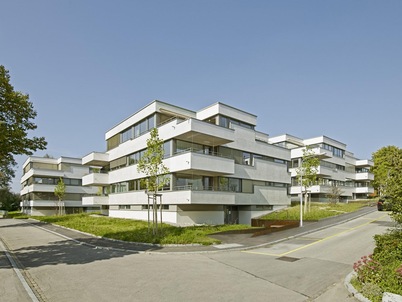 Ansicht Ostseite © Jürg Zimmermann, Malzstrasse 13, 8045 Zürich