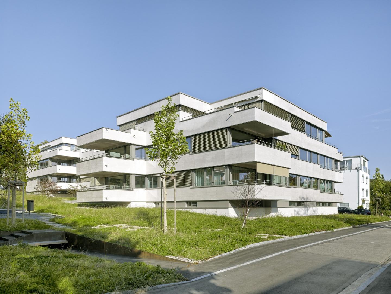 Ansicht Südwestseite © Jürg Zimmermann, Malzstrasse 13, 8045 Zürich