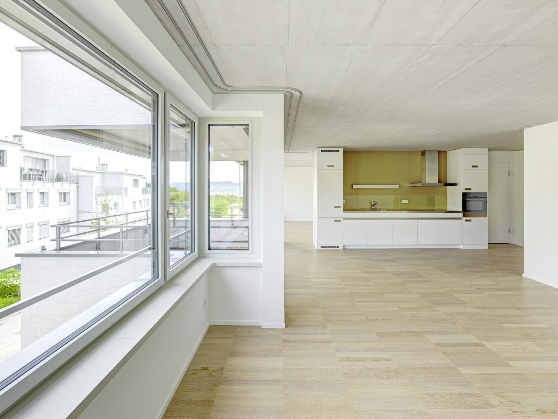 Zweizimmerwohnung © Jürg Zimmermann, Malzstrasse 13, 8045 Zürich