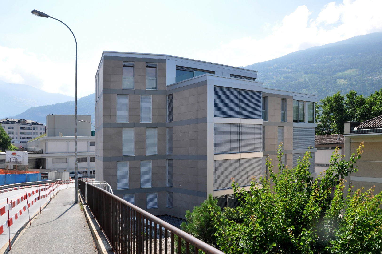 Nordwest-Ansicht © Savioz & Di Berardino architectes