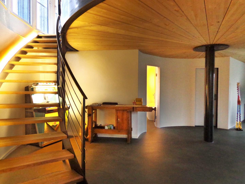 Eingangsbereich 2. Obergechoss © Fred Wittwer