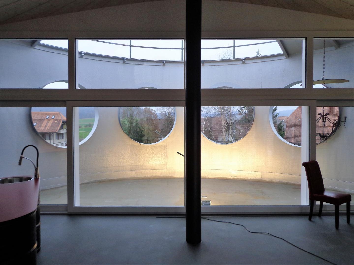 Terrasse étage mansardé © Fred Wittwer