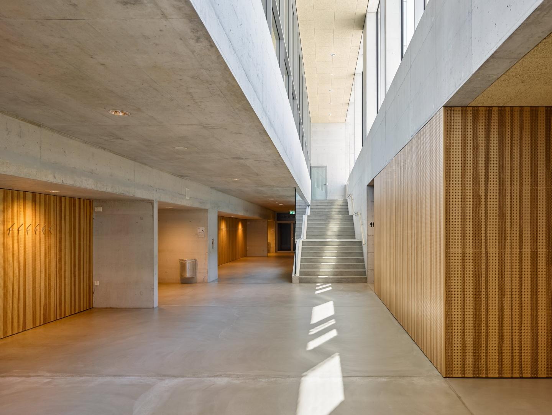 Kaskadentreppe Zugang Galerie © Michael Haug