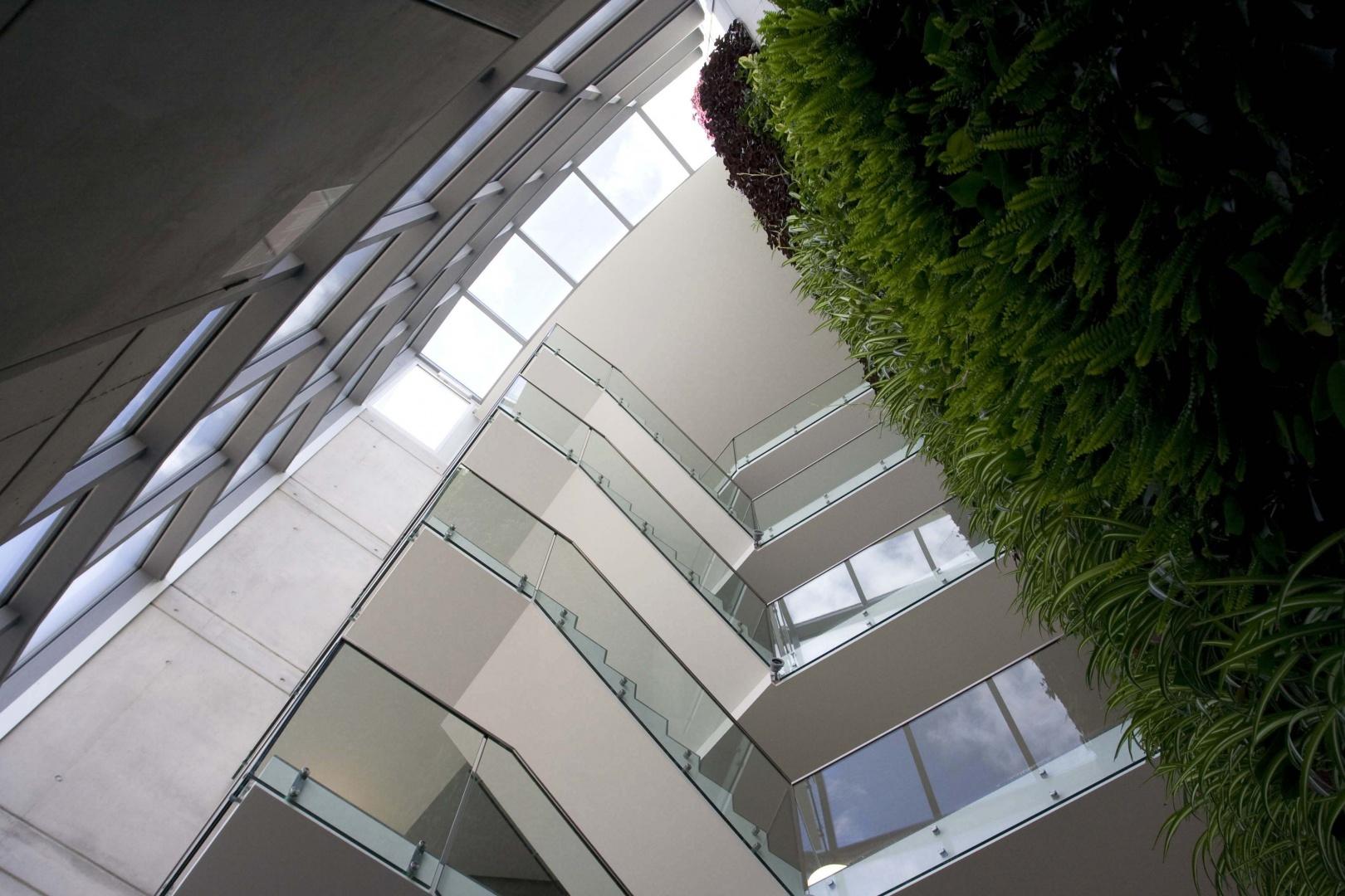 Innenansicht Atrium © Savioz & Di Berardino architectes