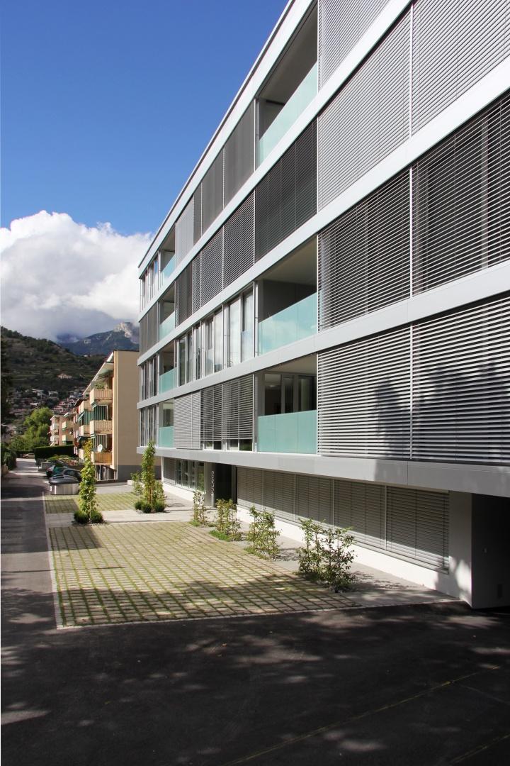Südfassade © Savioz & Di Berardino architectes