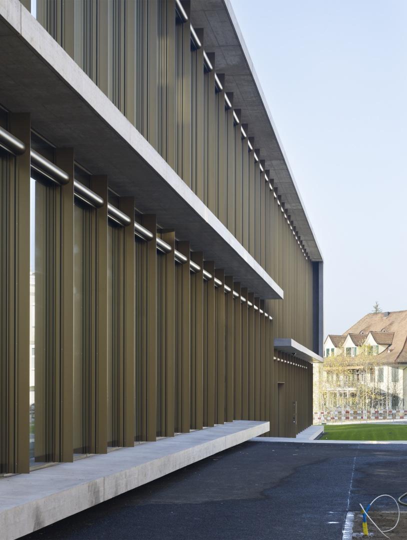 Ostfassade © Nissen Wentzlaff Architekten, Basel