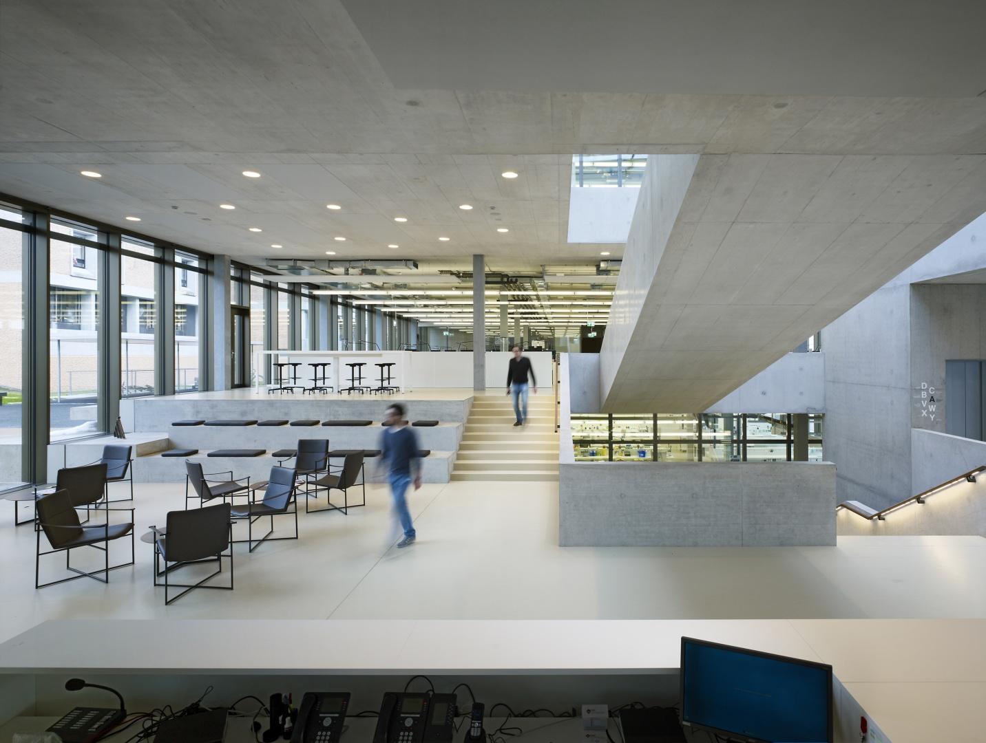 Eingangshalle © Nissen Wentzlaff Architekten, Basel