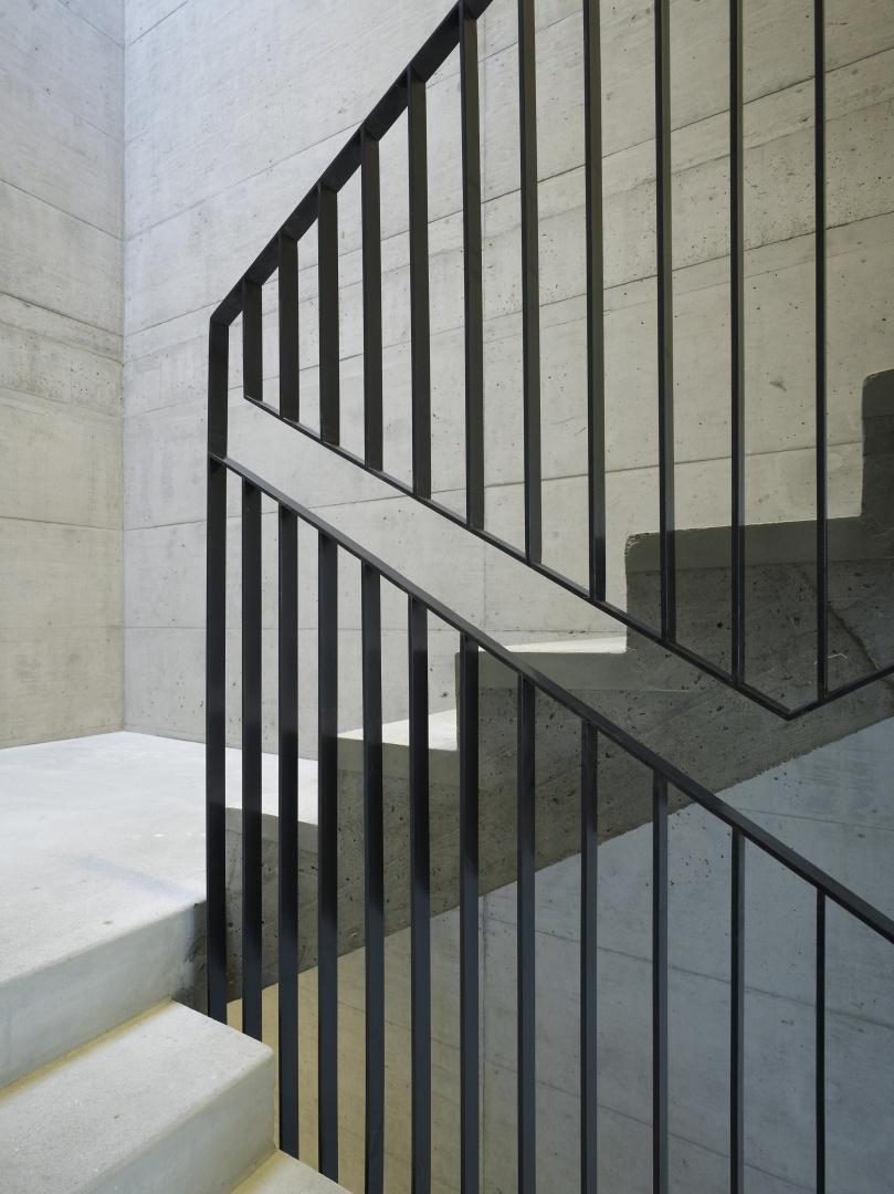 Handlaufdetail © Nissen Wentzlaff Architekten, Basel