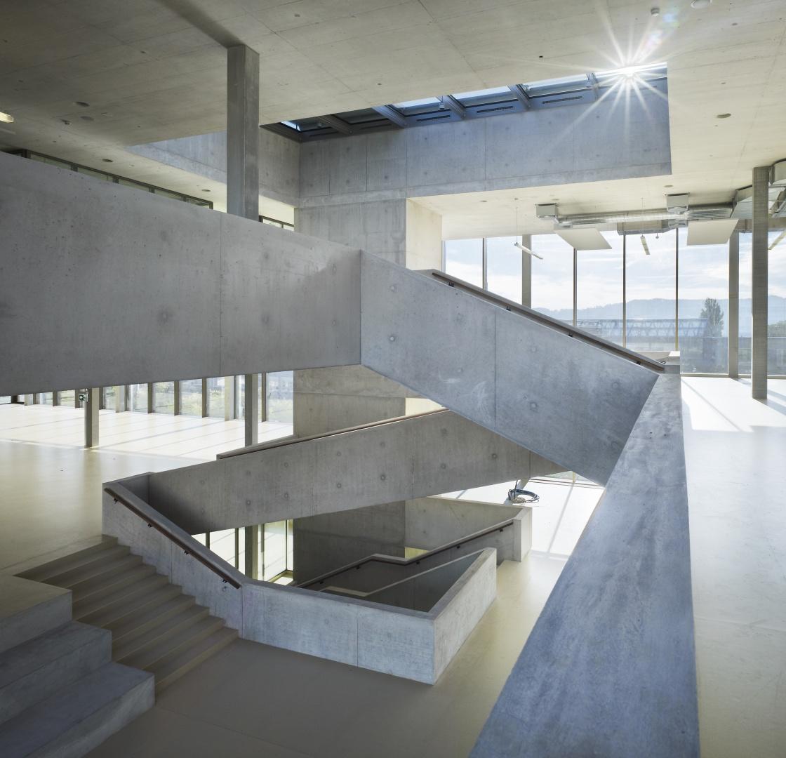 Zentrales Treppenhaus © Nissen Wentzlaff Architekten, Basel