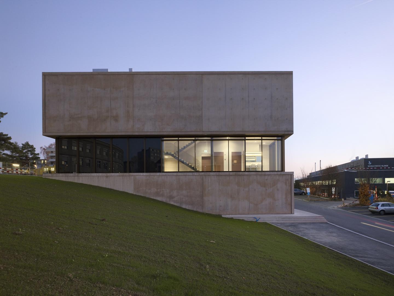 Nordfassade © Nissen Wentzlaff Architekten, Basel