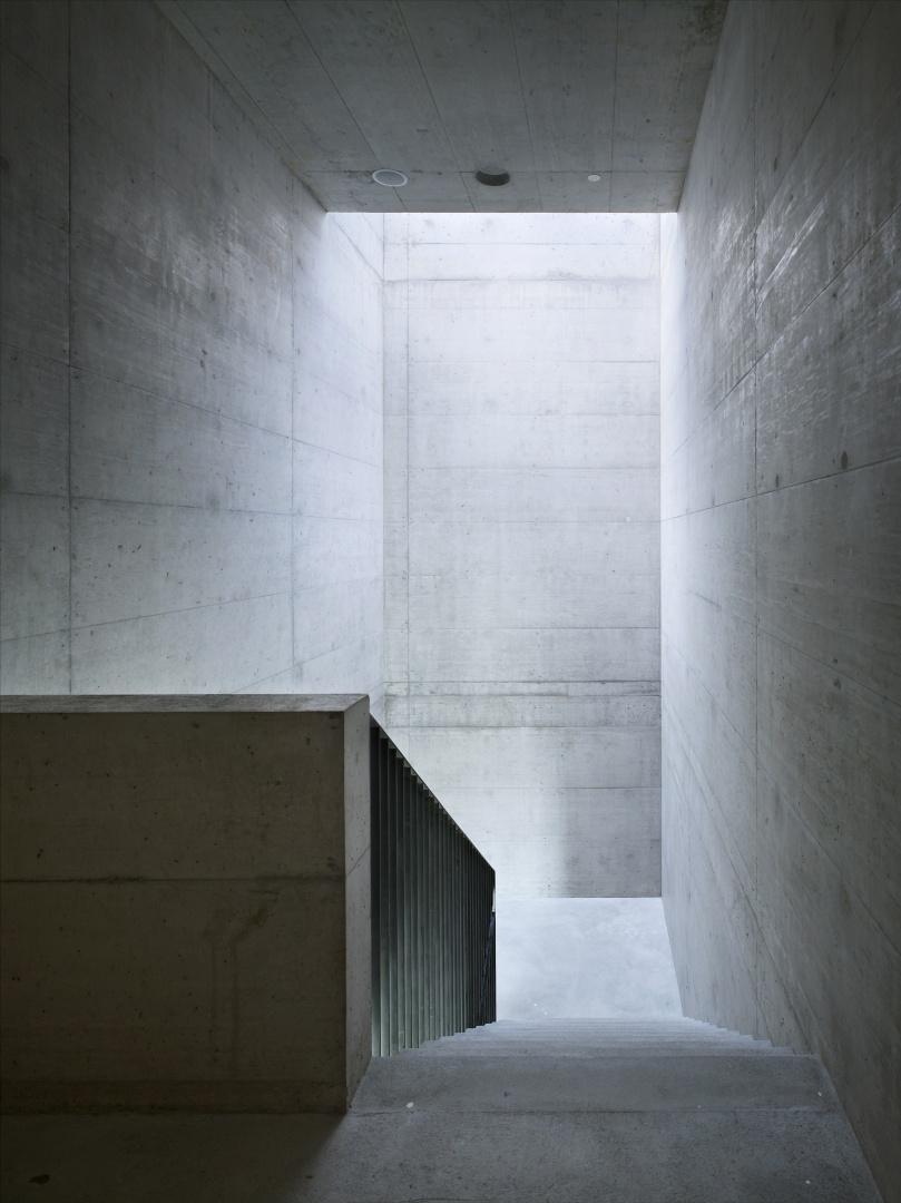 Treppenhaus Süd © Nissen Wentzlaff Architekten, Basel