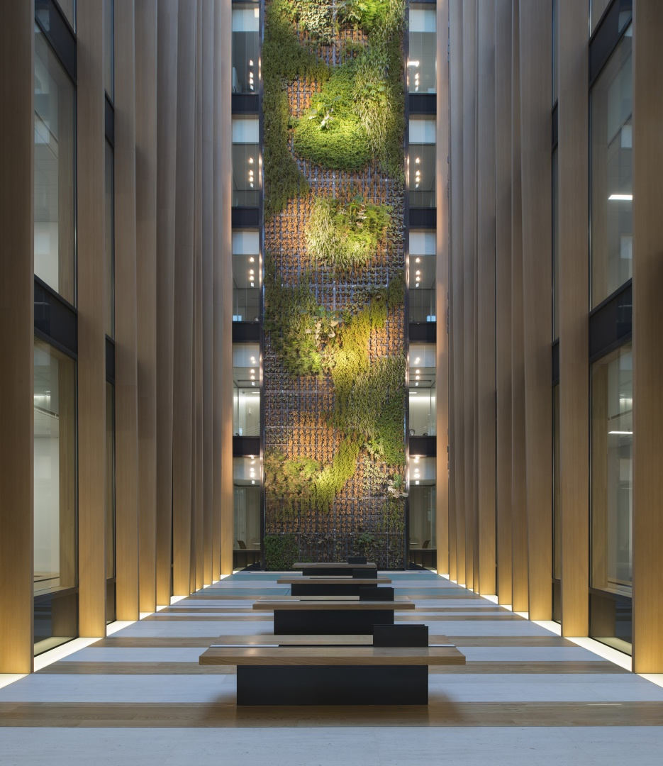 Vertikalbepflanzung © John MacLean, London