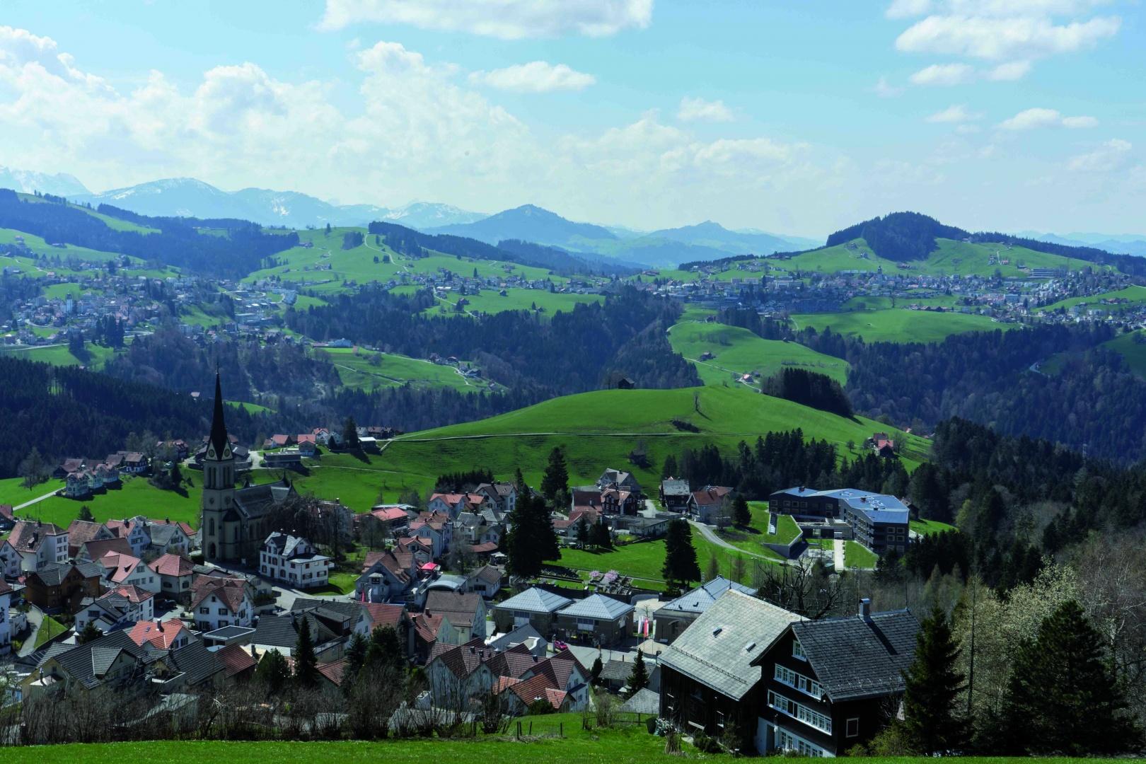 Dorf Rehetobel © Ueli Sonderegger GmbH, 9410 Heiden