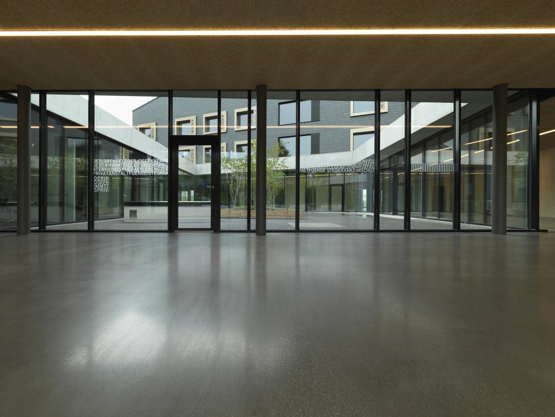 Foyer_Eingangsbereich © Jürg Zürcher Fotografie, 9000 St. Gallen