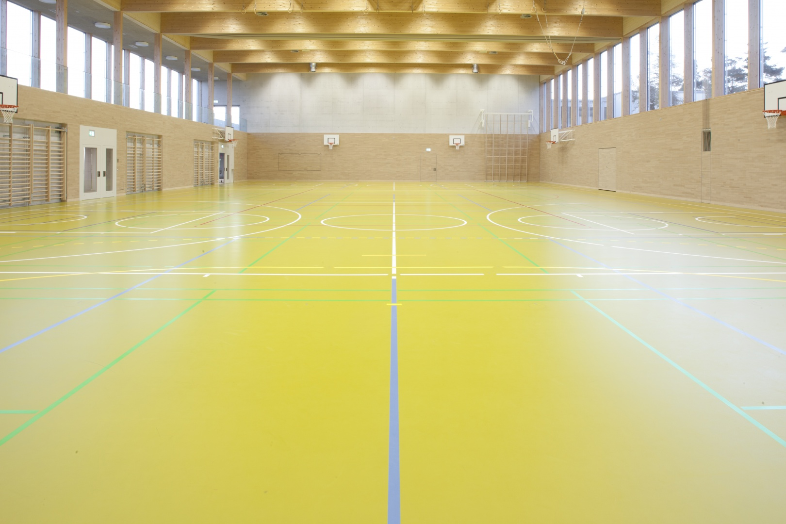 Sporthalle © Philipp Baer