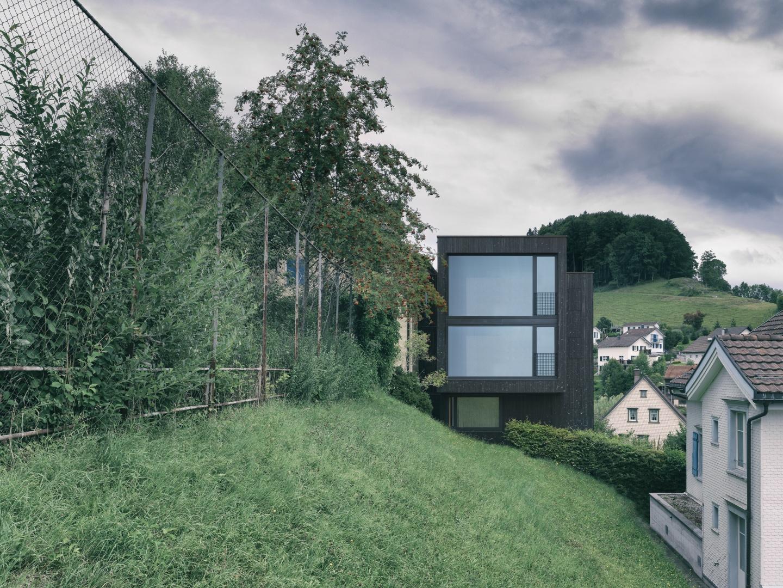 Westfassade © Jürg Zürcher Fotografie, 9000 St. Gallen