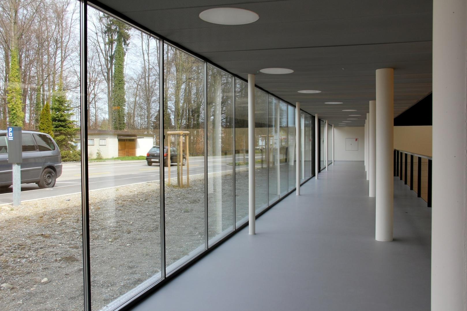 Galerie mit Fensterfront © keiserwerk