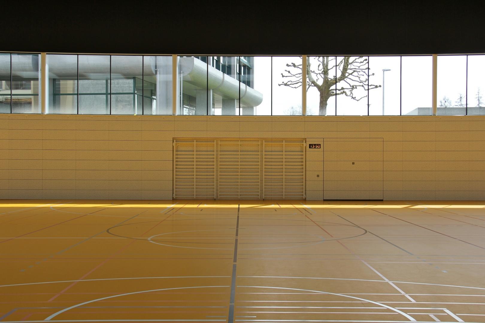 Neubau Sporthalle Arbon   Schweizer Baudokumentation