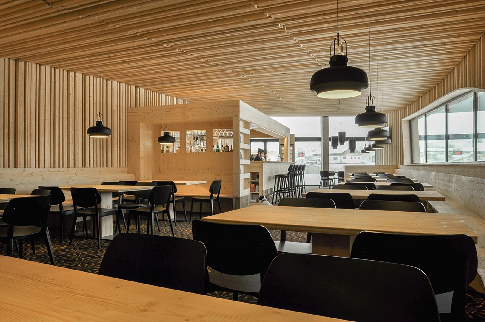 Portal Churwalden - Restaurant Portal (Sicht nach Norden) © Ritter Schumacher AG
