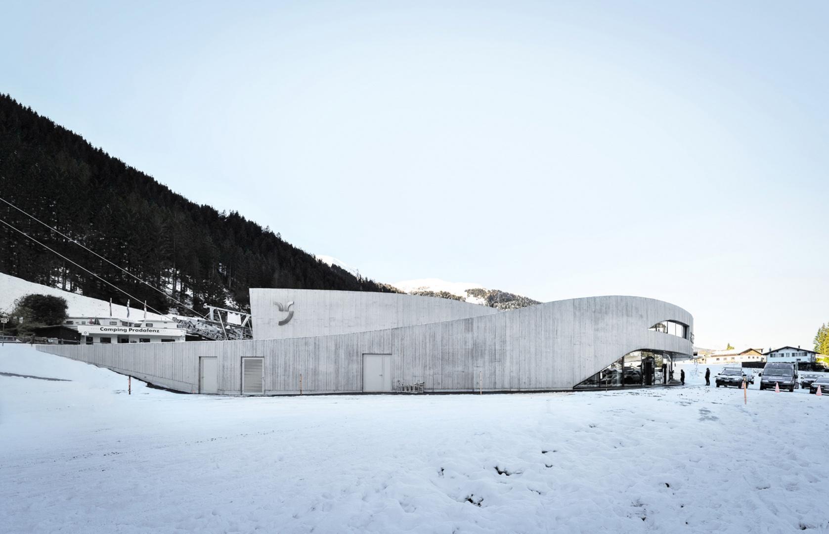 Portal Churwalden - Zugangsebene © Ritter Schumacher AG