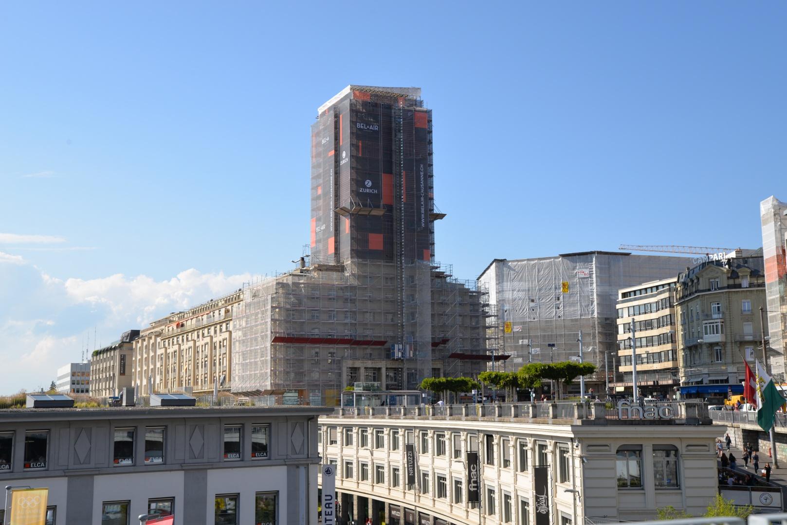 Aussenansicht © CCHE Lausanne SA
