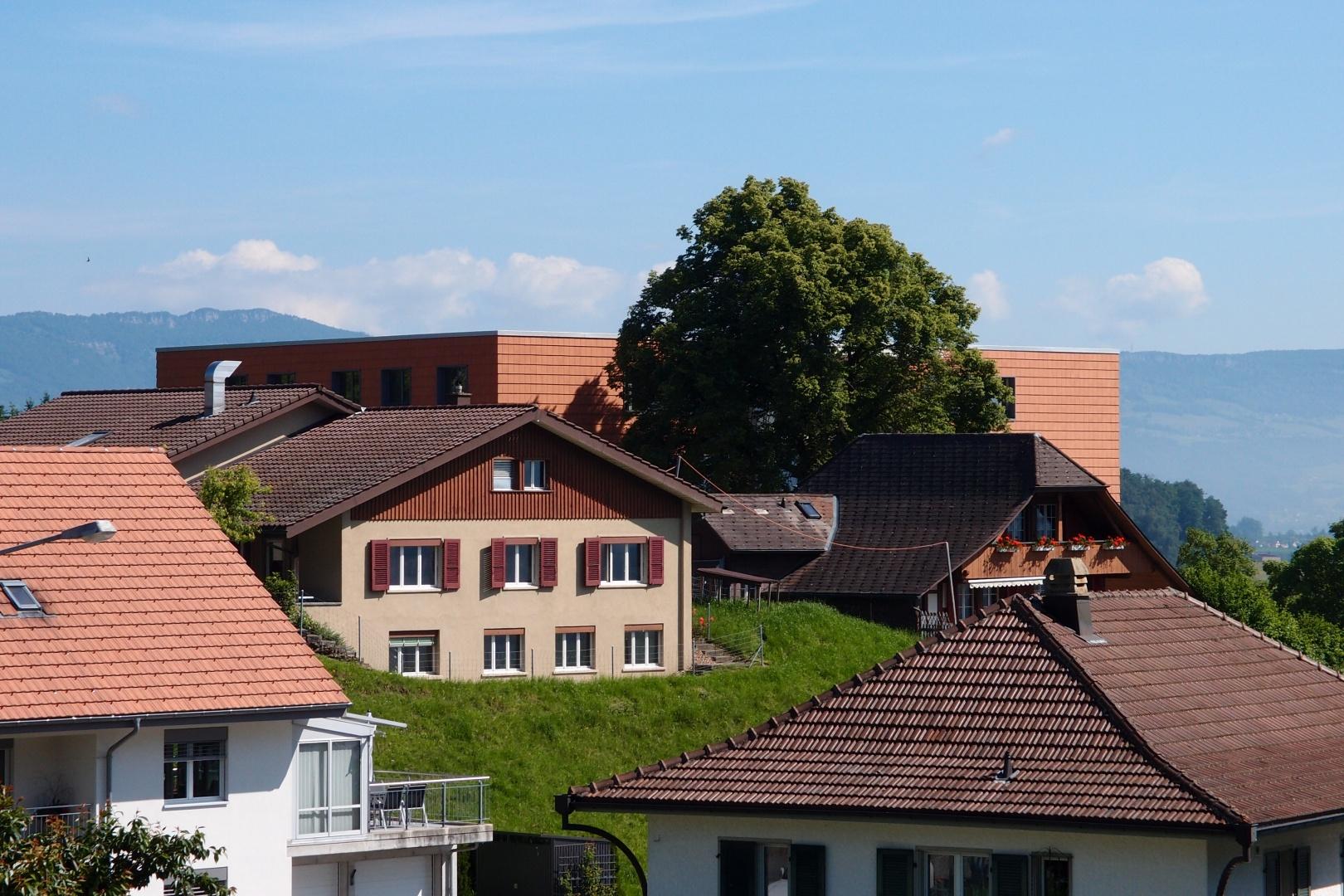Ziegellandschaft © wwb architekten ag