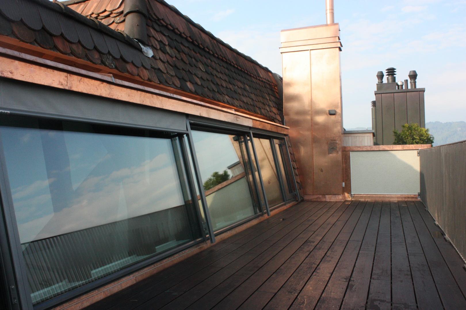 2. Dachterrasse  © Staffelbach Meier Architekten