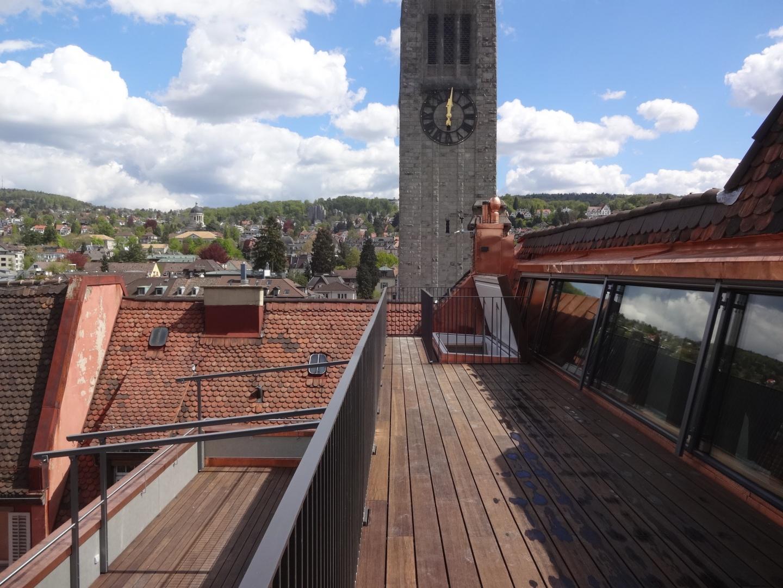 1. und 2. Dachterrasse  © Staffelbach Meier Architekten