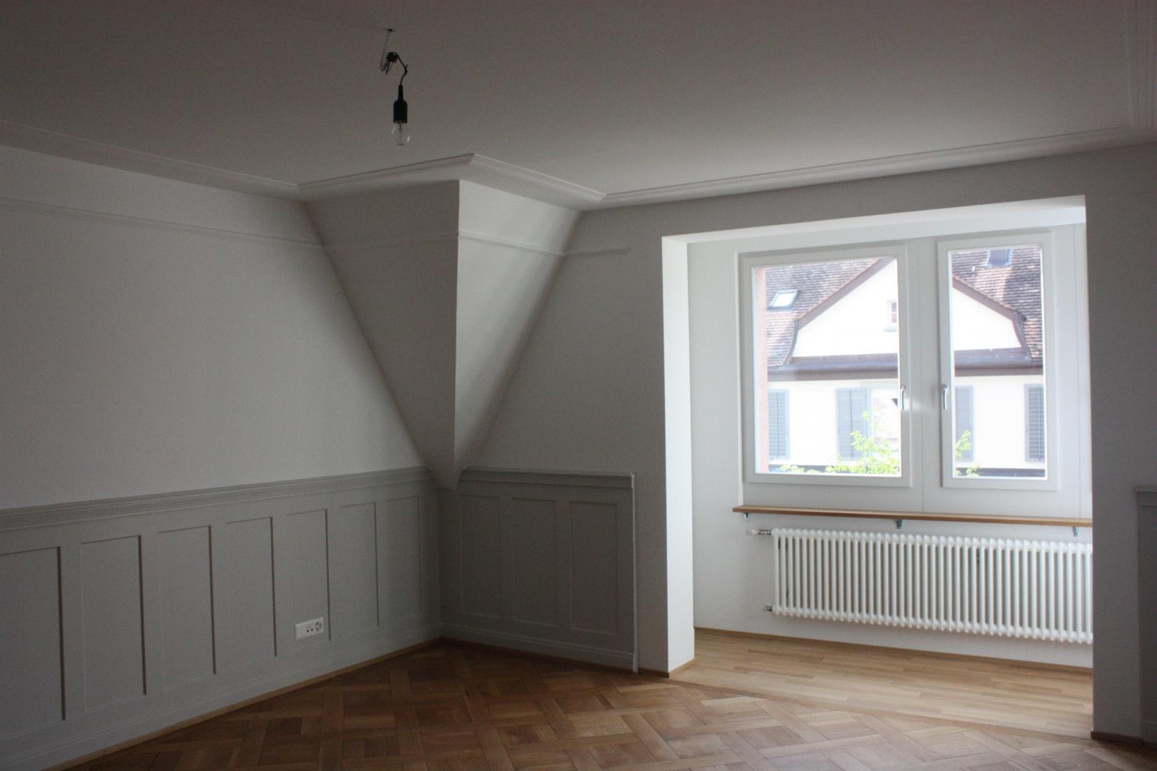 Zimmer im 4. OG © Staffelbach Meier Architekten