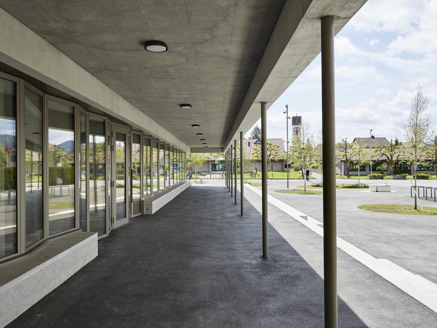 Entrée © Michael Fritschi, foto-werk gmbh,  Klingelbergstrasse 97, 4056 Basel