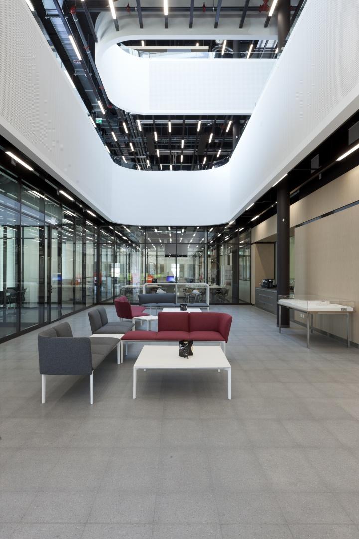 Eingang Atrium © Nicolas Repond - Nespresso