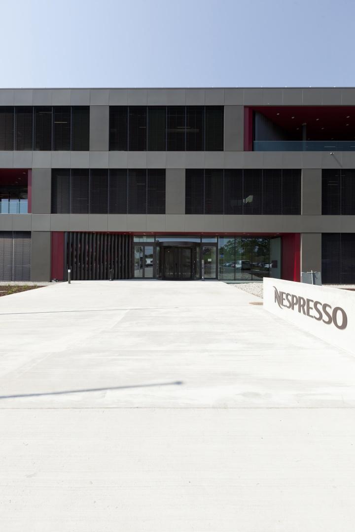 Verwaltungsgebäude © Nicolas Repond - Nespresso